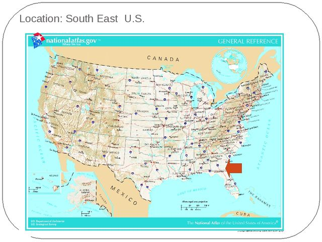Location: South East U.S.