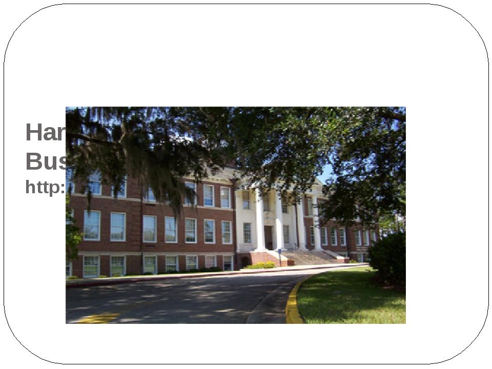 Harley Langdale, Jr. College of Business Administration http://www.valdosta....