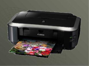 Печатающее устройство, которое выводит информацию на бумагу: модем, сервер, п