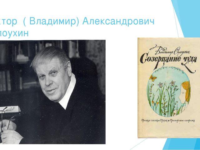 Виктор ( Владимир) Александрович Солоухин