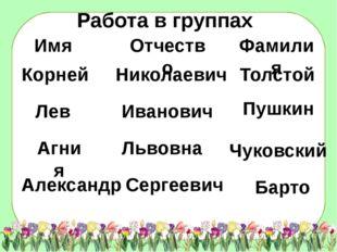 Корней Лев Агния Александр Николаевич Иванович Львовна Толстой Пушкин Барто С