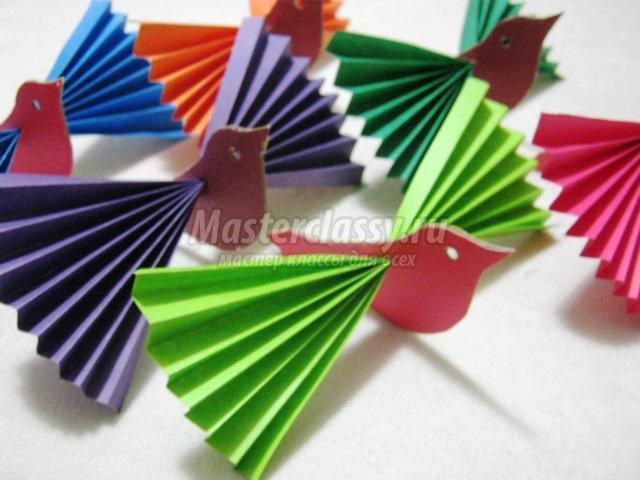 Хорошие поделки из цветной бумаги