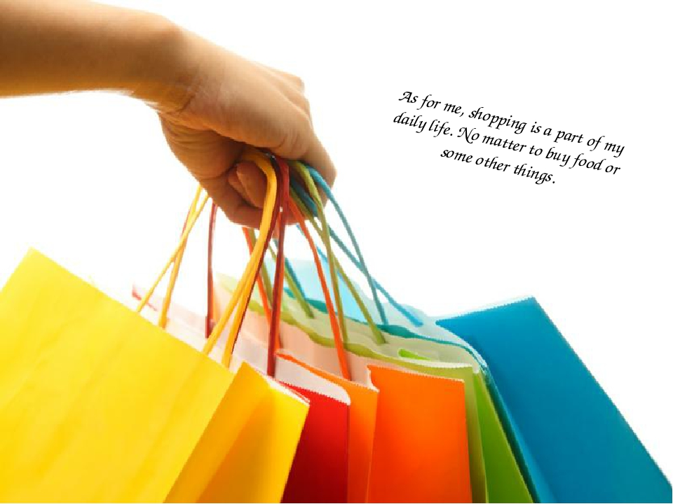 As for me, shopping is a part of my daily life. No matter to buy food or some...