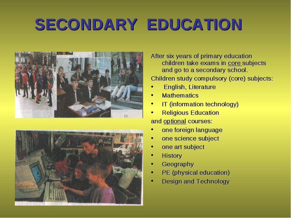 historical overview of secondary education in A historical overview t he most fundamental concern of schooling is curriculum students  teachers (in secondary schools, at least) are trained as subject-matter specialists, and 4) that textbooks and other teaching  pose of education is the cultivation of the intellect further, perennialists believe.