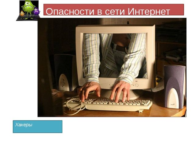 Опасности в сети Интернет Хакеры