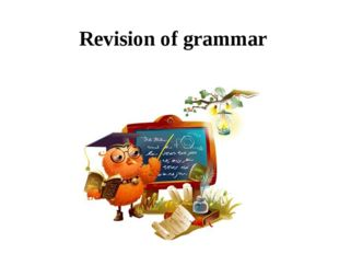 Revision of grammar