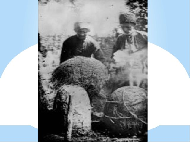 Черкесы пчеловоды. аул Лакшукай. 1928 год