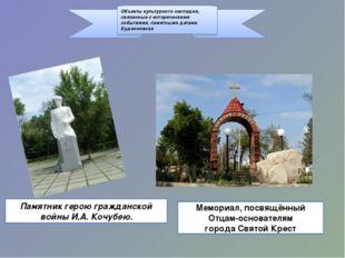 Объекты культурного наследия, связанные с историческими событиями, памятными