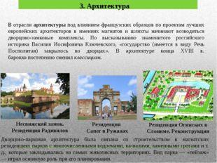 3. Архитектура Несвижский замок. Резиденция Радивилов Резиденция Сапег в Ружа