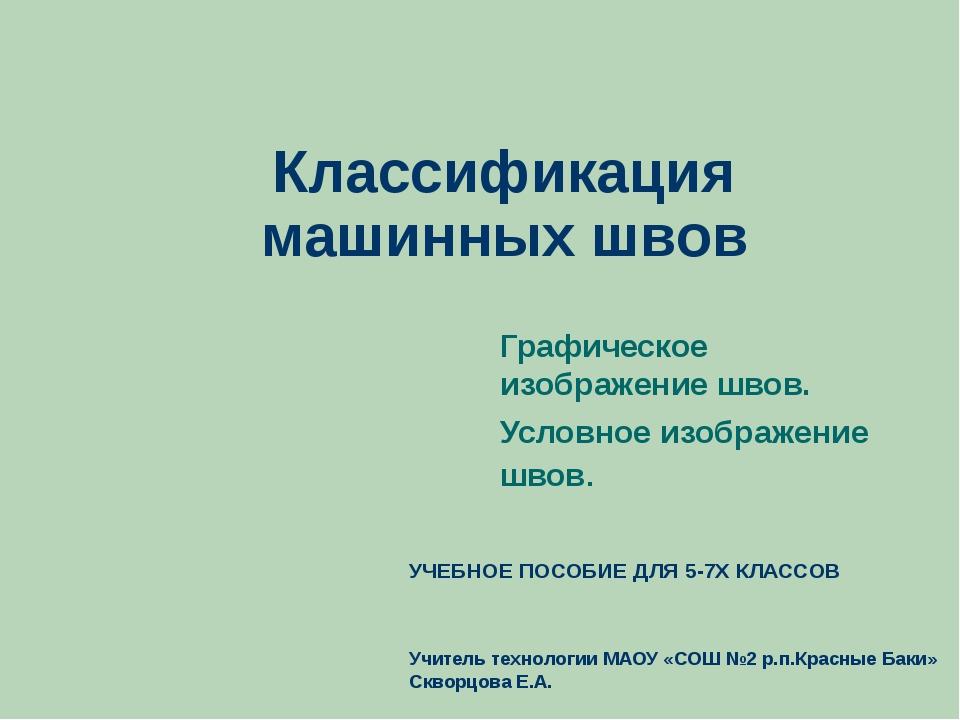 Классификация машинных швов Графическое изображение швов. Условное изображени...