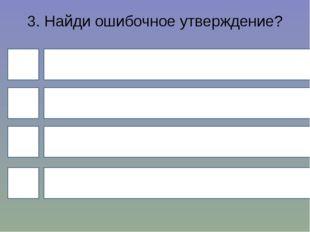 3. Найди ошибочное утверждение? 4 1 3 2 Имена существительные изменяются по р