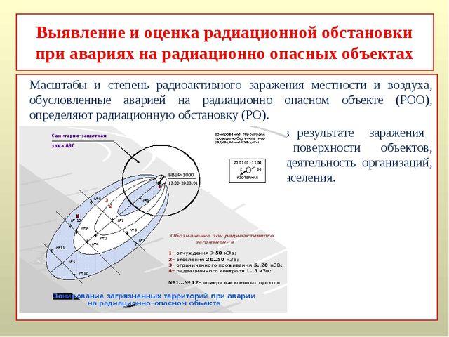 Выявление и оценка радиационной обстановки при авариях на радиационно опасных...