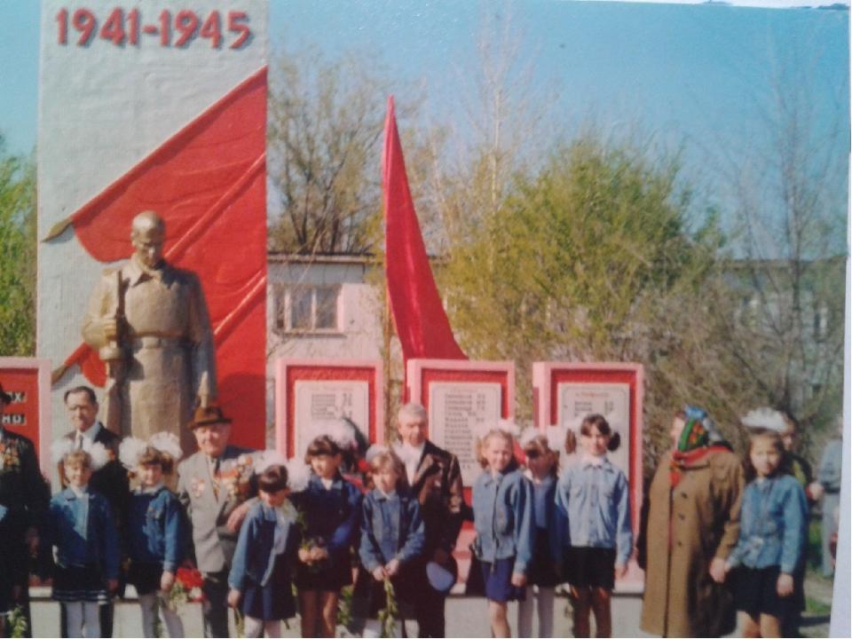 Памятник погибшим воинам п. Сборный *