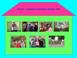 Школа – социокультурный центр села Кораблик Ступени: Семь вершин успеха Семь