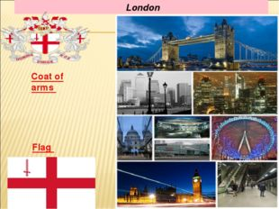 London Flag Coat of arms