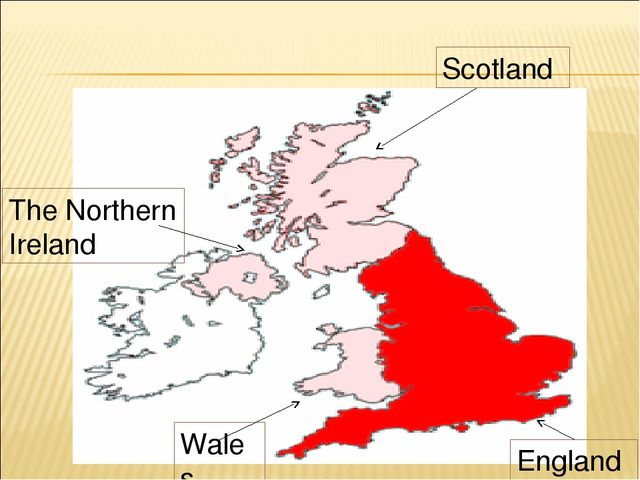 Scotland The Northern Ireland Wales England