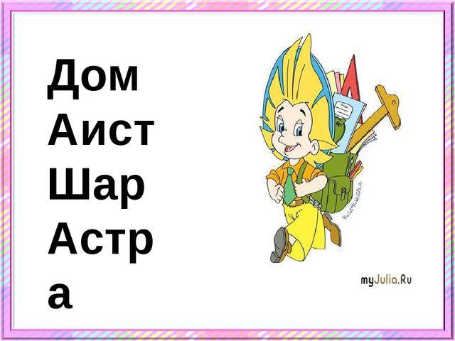 Дом Аист Шар Астра