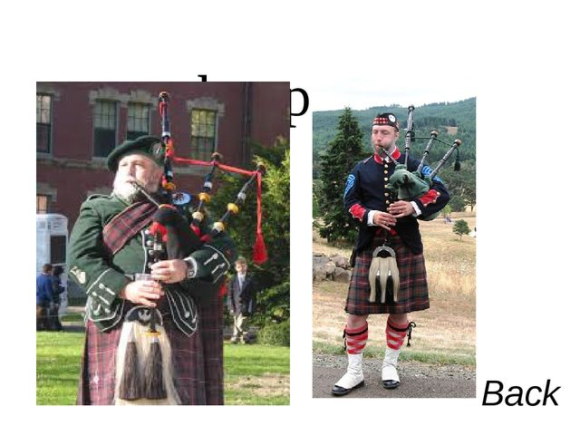 bagpipe Back