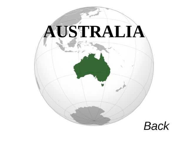 AUSTRALIA Back