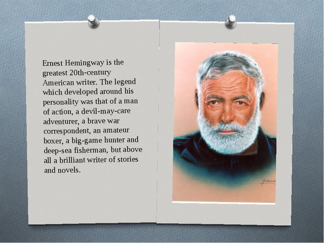 a biography and life of ernest hemingway an american novelist