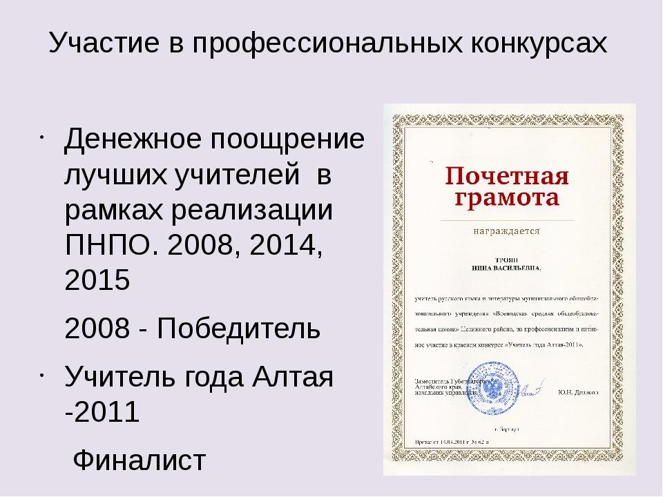 Конкурс на получение денежного поощрения лучшими учителями в республике башкортостан