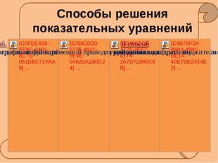 1) 6ˑ5х +3ˑ5х =45 2) 3х = х +1 3)32х -10ˑ3х +9=0 4) 2х = 32 Определите каким