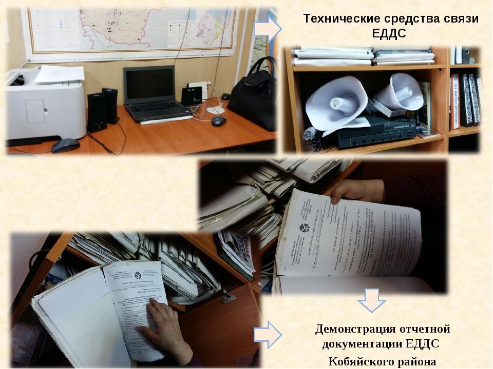 Технические средства связи ЕДДС Демонстрация отчетной документации ЕДДС Кобяй...
