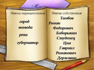 Тамбов Роман Федорович Боборыкин Студенец Цна Гавриил Романович Державин Имен