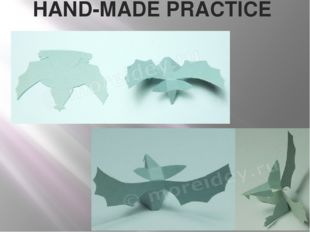 HAND-MADE PRACTICE