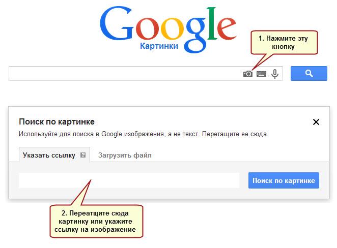 гугл найти фото по фото