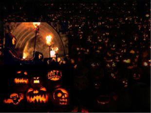 Хэллоуин Слово «Хэллоуин» впервые упоминается в XVI веке. Так в то время назы
