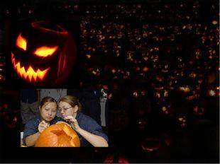 Хэллоуин традиционно отмечается в ночь с 31 октября на 1 ноября. Сложилась т