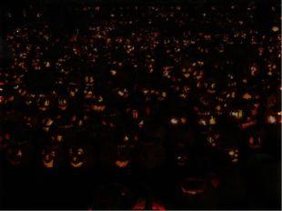 Символы В Шотландии в качестве символа Хэллоуина выступала репа, но в Северно