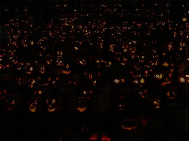 Символы В Шотландии в качестве символа Хэллоуина выступала репа, но в Северно...