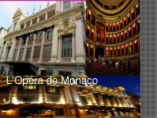 L'Opéra de Monaco
