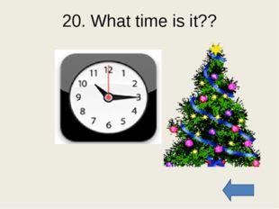 40. What time is it?? It is a quarter past ten It is half past eight It is te