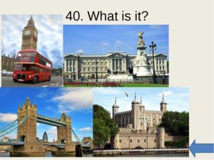50. Match the sights Trafalgar Big Tower Buckingham The Houses of Westminster