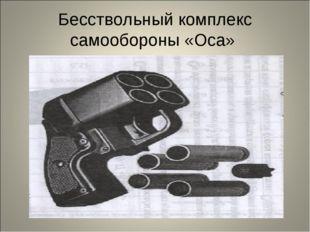 Бесствольный комплекс самообороны «Оса»