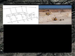 Съемка подробностей способом перпендикуляров При удалении объекта на расстоян