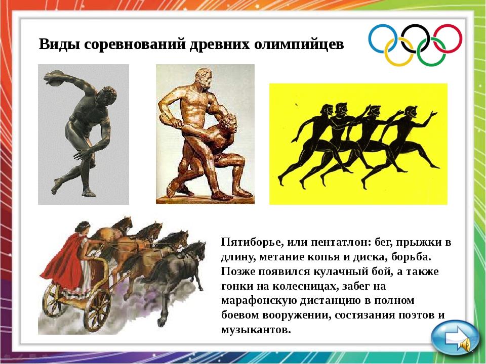 Олимпийская мультвикторина