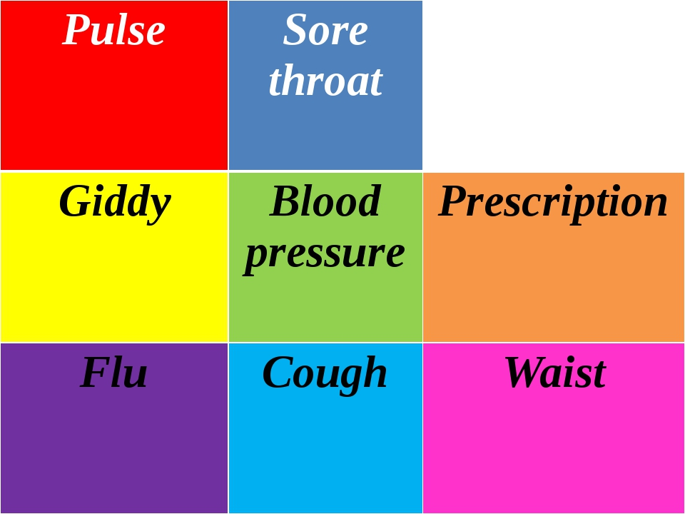Pulse Sore throat Stomach-ache Giddy Blood pressure Prescription Flu Cough Wa...