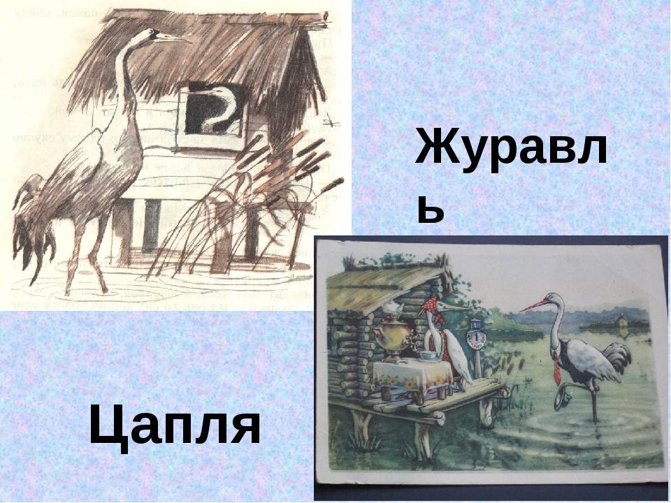 Журавль Цапля