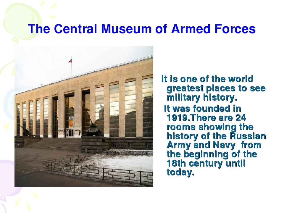 The Central Museum of Armed Forces It is one of the world greatest places to...