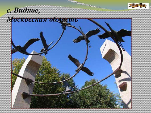 с. Видное, Московская область