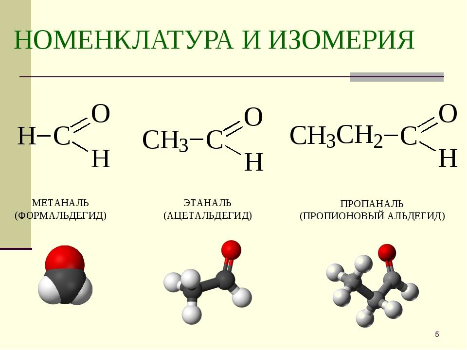 Презентация альдегиды и кетоны