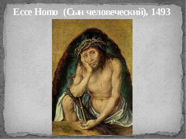 Ecce Homo (Сын человеческий), 1493