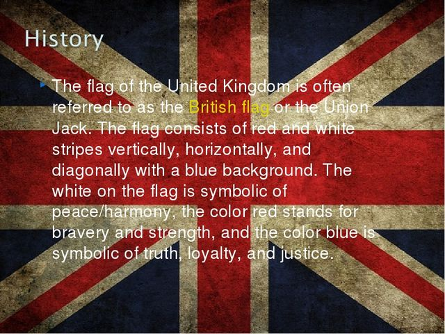 The flag of the United Kingdom is often referred to as theBritish flagor th...