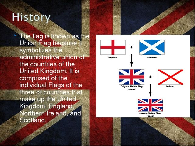 The flag is known as the Union Flag because it symbolizes the administrative...