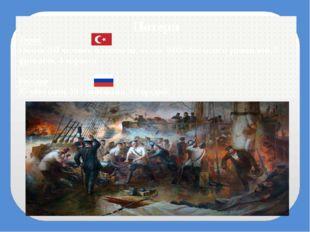 Потери Турки Около 200 человек пленными, около 3000 убитыми и ранеными, 7 фре