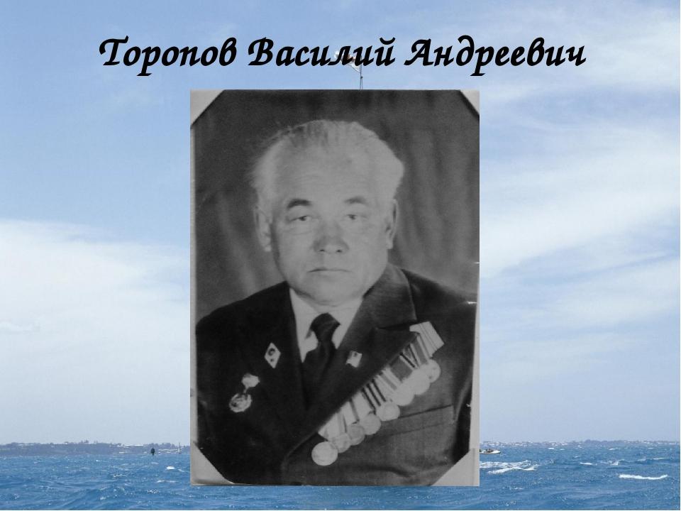Торопов Василий Андреевич